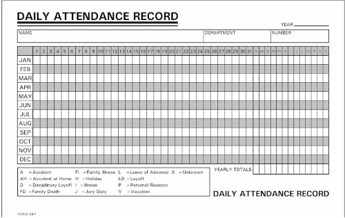 1 000 daily attendance record annual 800 858 7462