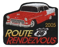 2005 ROUTE 66 RENDEZVOUS  souvenir patch