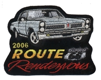2006B ROUTE 66 RENDEZVOUS  souvenir patch