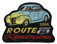 2006C ROUTE 66 RENDEZVOUS  souvenir patch