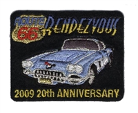 2009 ROUTE 66 RENDEZVOUS  souvenir patch