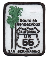 Route 66 Rendezvous embroidered patch