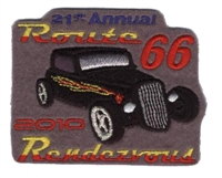 2010C ROUTE 66 RENDEZVOUS  souvenir patch