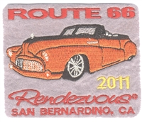 2011 ROUTE 66 RENDEZVOUS  souvenir patch