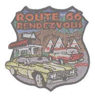 2012C ROUTE 66 RENDEZVOUS  souvenir patch