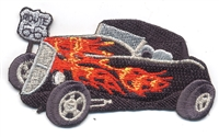 0066-33 - 1933 Ford Hi-Boy Roadster souvenir classic car embroidered patch
