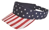 US flag pattern visor