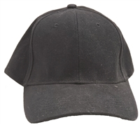 Comfortable brushed cotton cap. Elastic fit similar to Flex Fit.