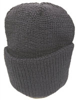 knit beanie. One size fits most. Fits young kids to adults.