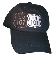US 101, black shadow cap