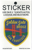 0450-4005 - Golden Gate BRIDGE SAN FRANCISCO sticker