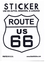 ROUTE US 66 sticker