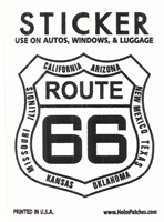 0450-6893 - ROUTE 66 sticker