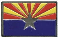 ARIZONA flag pin - 0475-1104, AZ, ARIZ
