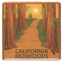 CALIFORNIA REDWOODS hat pin