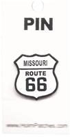 MISSOURI ROUTE 66 hat pin.