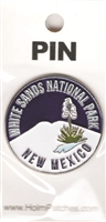 WHITE SANDS NATIONAL PARK NEW MEXICO hat pin