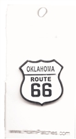 OKLAHOMA ROUTE 66 hat pin.