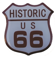 HISTORIC US 66 hat pin