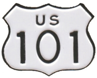 US 101 hat pin hat