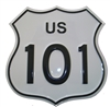 0600-8101 - US 101 sign