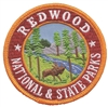 1217 - REDWOOD NATIONAL & STATE PARKS souvenir embroidered patch