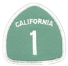 1231 - CALIFORNIA 1 souvenir embroidered patch