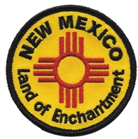 2557 - NEW MEXICO - LAND OF ENCHANTMENT souvenir embroidered patch
