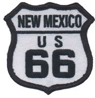 2566-39 - NEW MEXICO US 66 souvenir embroidered patch