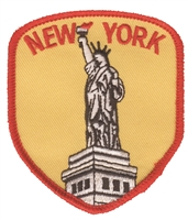 2606 - NEW YORK Statue of Liberty souvenir embroidered patch