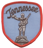 3103 - Tennessee souvenir shield uniform or souvenir embroidered patch