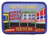 0-0790 - PIKE PLACE MARKET souvenir embroidered patch