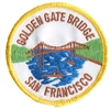 4003 - SAN FRANCISCO GOLDEN GATE BRIDGE souvenir embroidered patch