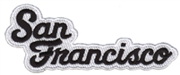 4020-01/39 - San Francisco souvenir embroidered patch
