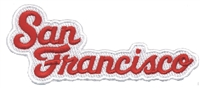 4020-36/19 - San Francisco souvenir embroidered patch