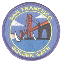 4031 - SAN FRANCISCO souvenir embroidered patch