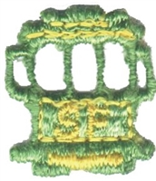 4095 - SF cable car souvenir embroidered patch
