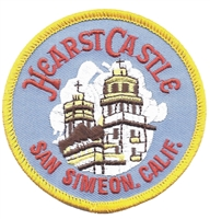 4551 - HEARST CASTLE - SAN SIMEON, CALIF souvenir embroidered patch