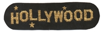 4656-21M - HOLLYWOOD souvenir embroidered patch