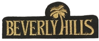 4671-21M - BEVERLY HILLS souvenir embroidered patch