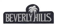 4671-58M - BEVERLY HILLS souvenir embroidered patch