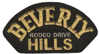 4673 - BEVERLY HILLS souvenir embroidered patch