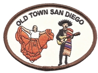 4723 - OLD TOWN SAN DIEGO souvenir embroidered patch