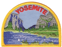 YOSEMITE Gates of the Valley souvenir embroidered patch