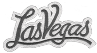 5252-01/39 - Las Vegas script souvenir embroidered patch