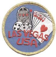 LAS VEGAS  USA souvenir embroidered patch