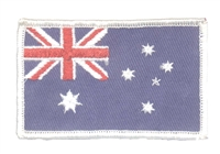 6044 - AUSTRALIA flag uniform or souvenir embroidered patch