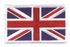 GREAT BRITAIN Union Jack embroidered flag patch for a uniform or souvenir