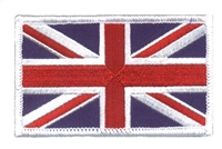 6224-W - GREAT BRITAIN embroidered flag patch for a uniform or souvenir