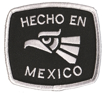 HECHO EN MEXICO embroidered patch